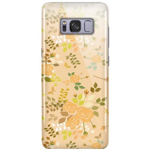 Samsung Galaxy S8 LUX Mobilskal (Glansig) Flowery Tapestry