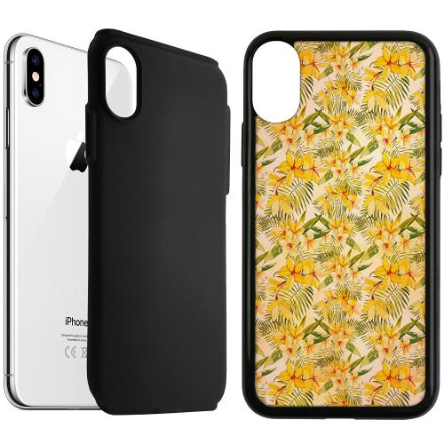 Apple iPhone XS Max Duo Case Svart Simple Serenity