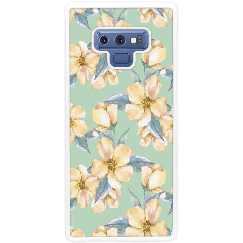 Samsung Galaxy Note 9 Mobilskal Waterproof Flowers