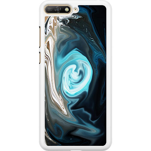 Huawei Y6 (2018) Hard Case (White) Twisted Reality