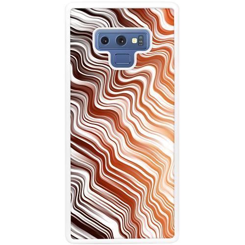 Samsung Galaxy Note 9 Mobilskal Distorted Soundwaves