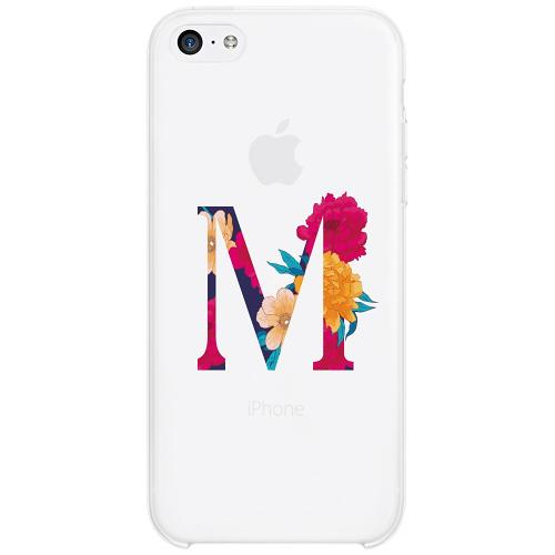 Apple iPhone 5c Firm Case Bokstaven - M