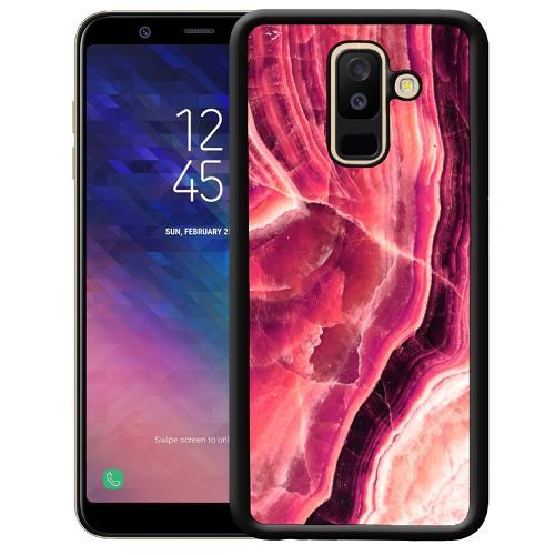 Samsung Galaxy A6 Plus (2018) Mobilskal Metamorphic Ruby