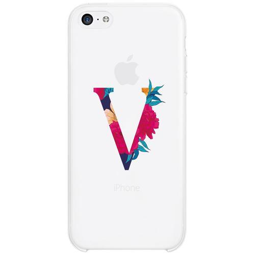 Apple iPhone 5c Firm Case Bokstaven - V