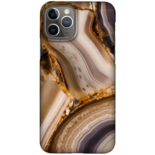 Apple iPhone 11 Pro LUX Mobilskal (Matt) Amber Agate