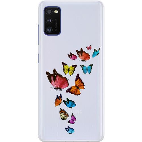 Samsung Galaxy A41 Thin Case Fjärilar