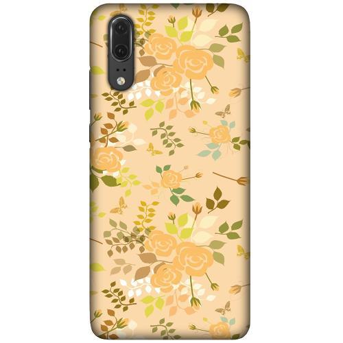 Huawei P20 LUX Mobilskal (Matt) Flowery Tapestry