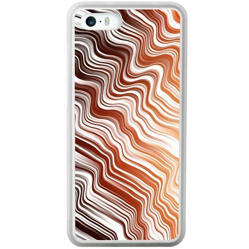 Apple iPhone 5 / 5s / SE Mobilskal Distorted Soundwaves