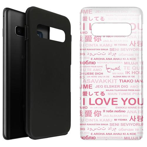 Samsung Galaxy S10 Plus LUX Duo Case International Love