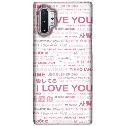 Samsung Galaxy Note 10 Plus LUX Mobilskal (Matt) International Love
