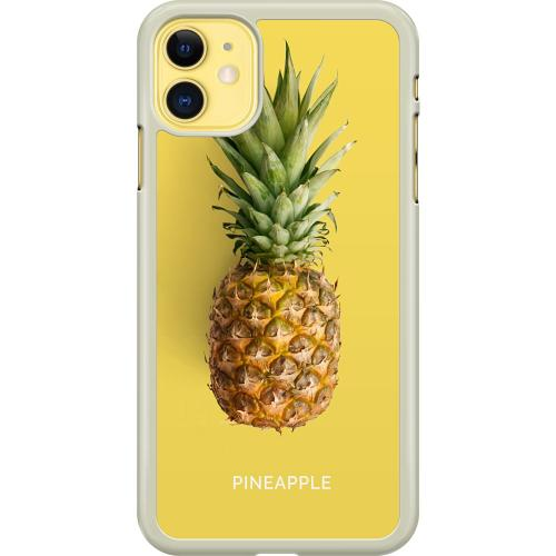 Apple iPhone 11 Hard Case (Transparent) Not A Pine Nor A Fruit