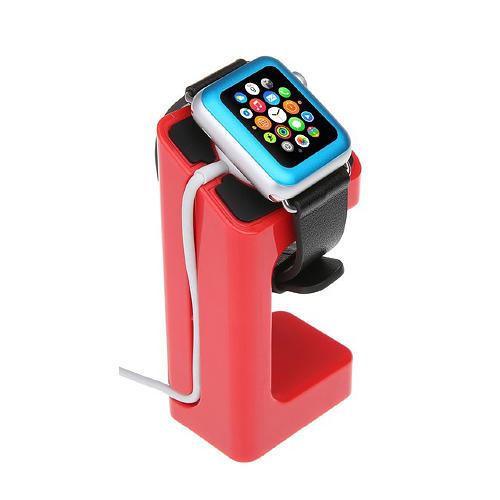 Laddningsställ för Apple Watch Röd