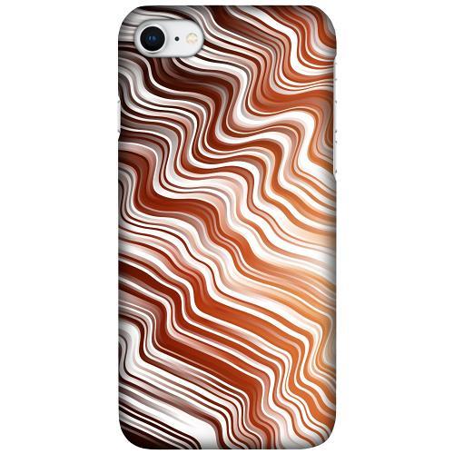 Apple iPhone SE (2020) LUX Mobilskal (Matt) Distorted Soundwaves
