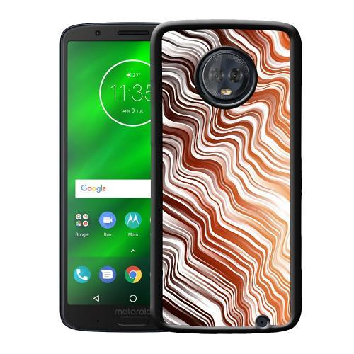 Motorola Moto G6 Plus Mobilskal Distorted Soundwaves