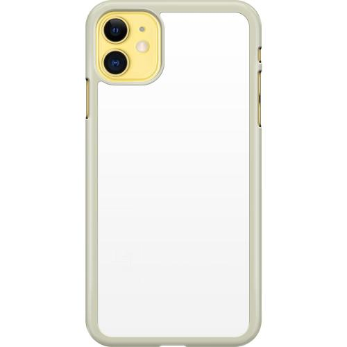 Apple iPhone 11 Hard Case (Transparent) Milk