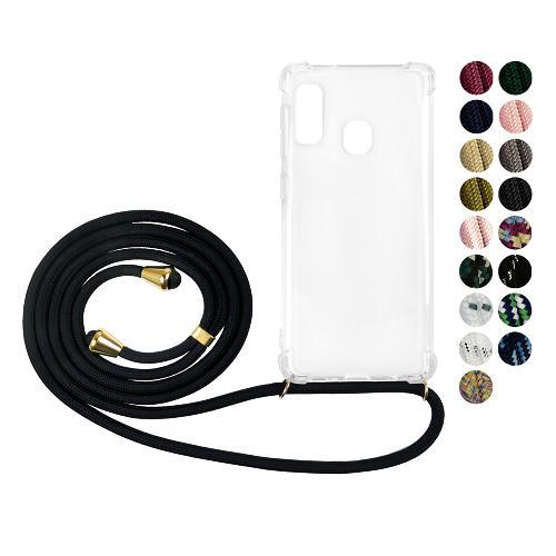 Samsung Galaxy A20e GLAM. Case Band (Guld)