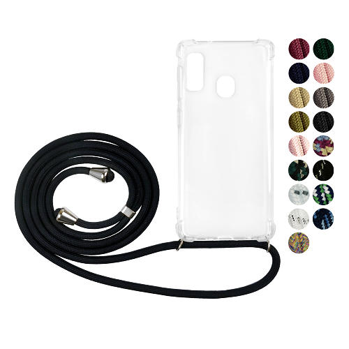 Samsung Galaxy A20e GLAM. Case Band (Silver)