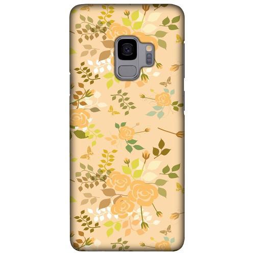 Samsung Galaxy S9 LUX Mobilskal (Matt) Flowery Tapestry