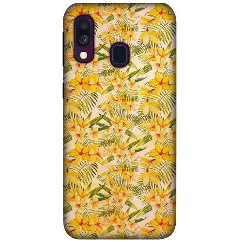 Samsung Galaxy A40 LUX Mobilskal (Matt) Simple Serenity