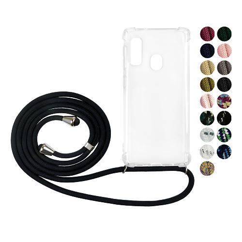 Samsung Galaxy A40 GLAM. Case Band (Silver)