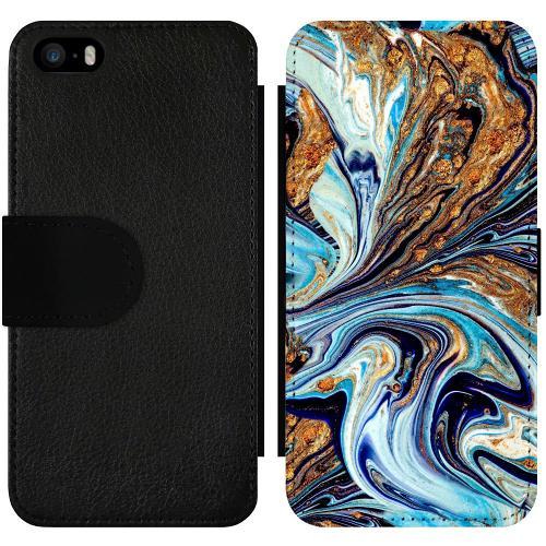 Apple iPhone 5 / 5s / SE Wallet Slimcase Timeslip