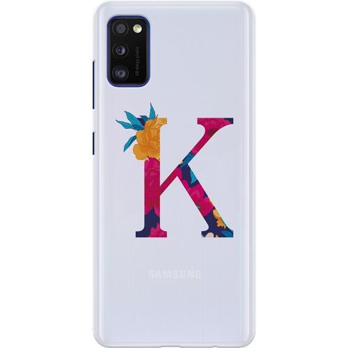 Samsung Galaxy A41 Thin Case Bokstaven - K