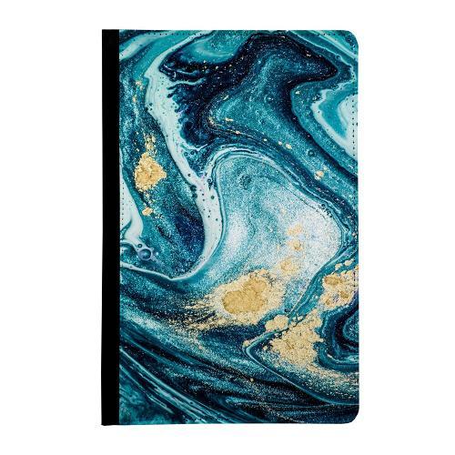 Samsung Galaxy Tab E 9.6 360 Väska Golden Lavation