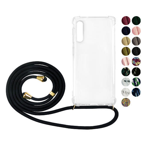 Samsung Galaxy A50 GLAM. Case Band (Guld)