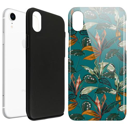 Apple iPhone XR LUX Duo Case Unknown Spaces