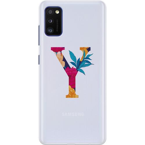 Samsung Galaxy A41 Thin Case Bokstaven - Y