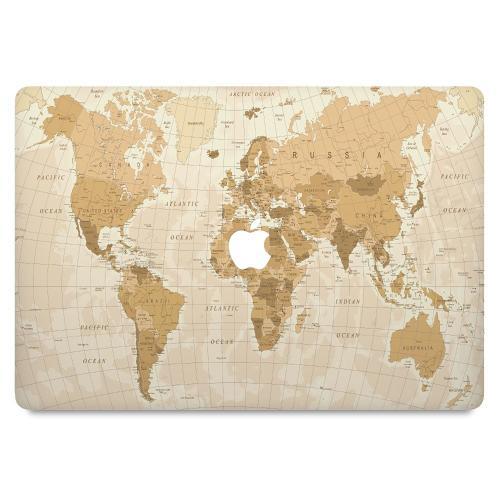 "MacBook 12"" Skin Map"