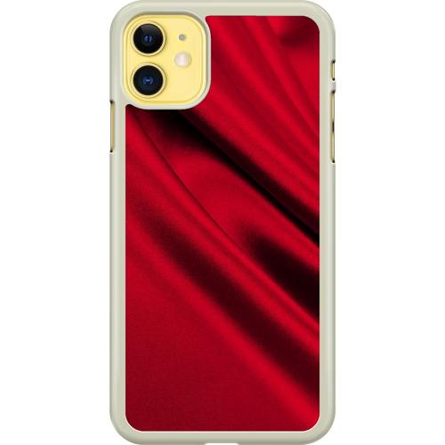 Apple iPhone 11 Hard Case (Transparent) Shiny Cerise