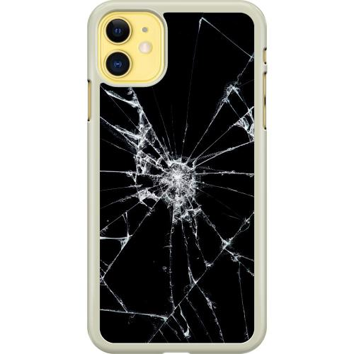 Apple iPhone 11 Hard Case (Transparent) Crushed Hope
