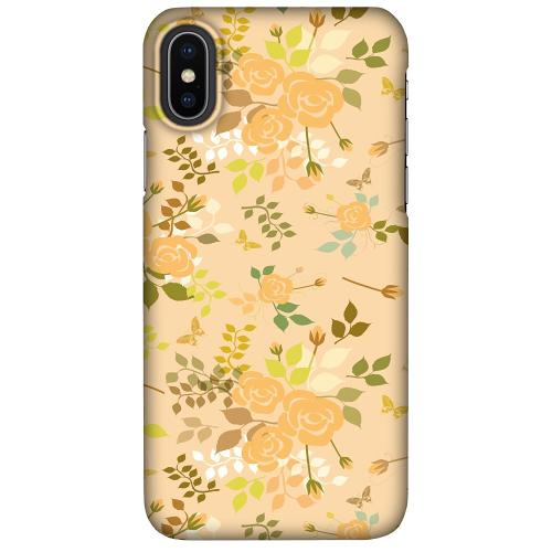 Apple iPhone X / XS LUX Mobilskal (Matt) Flowery Tapestry