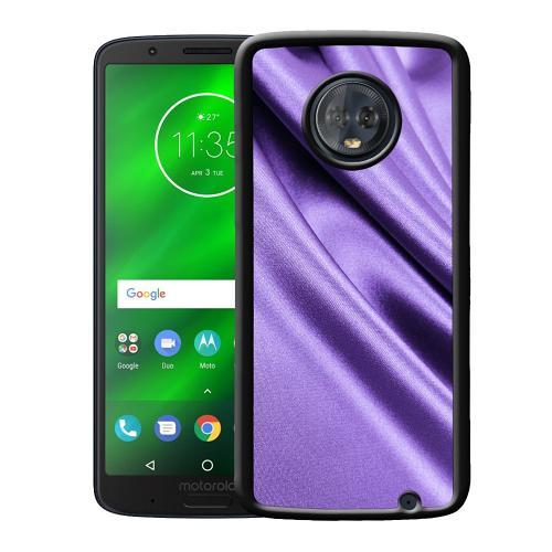 Motorola Moto G6 Plus Mobilskal Silky Lavendel
