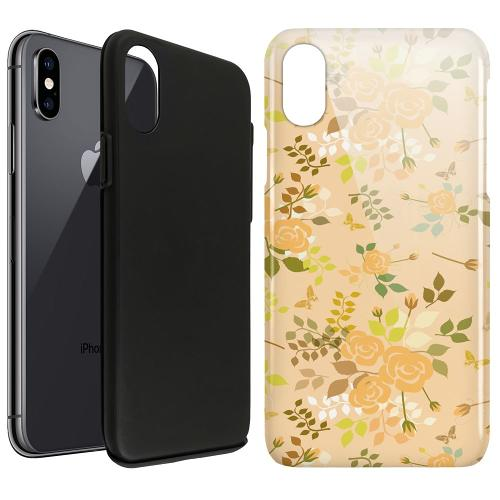 Apple iPhone X / XS LUX Duo Case Flowery Tapestry