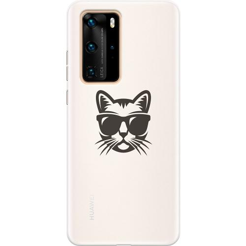 Huawei P40 Pro Thin Case Hund
