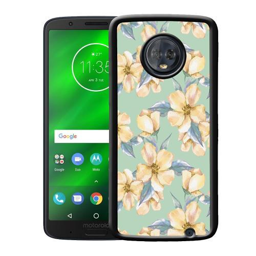 Motorola Moto G6 Plus Mobilskal Waterproof Flowers