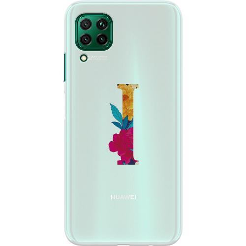 Huawei P40 Lite Thin Case Bokstaven - I
