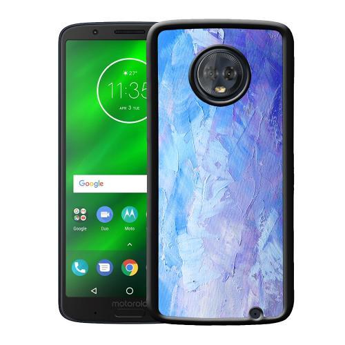 Motorola Moto G6 Plus Mobilskal Pristine Pastel Strokes