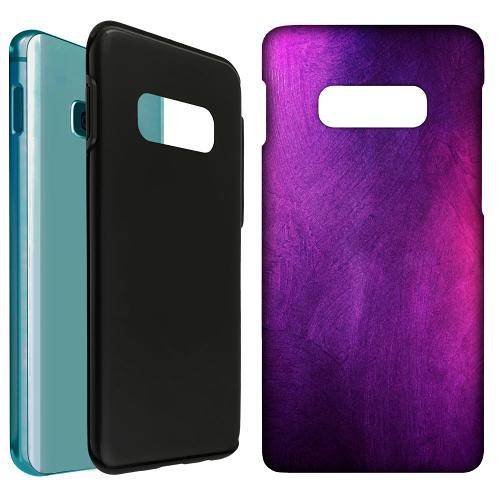 Samsung Galaxy S10e LUX Duo Case Purple and Profound