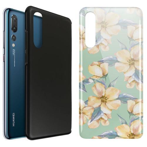 Huawei P20 Pro LUX Duo Case Waterproof Flowers