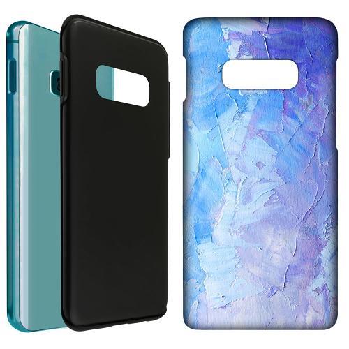 Samsung Galaxy S10e LUX Duo Case Pristine Pastel Strokes