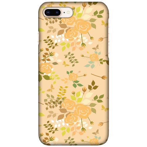 Apple iPhone 7 Plus LUX Mobilskal (Matt) Flowery Tapestry