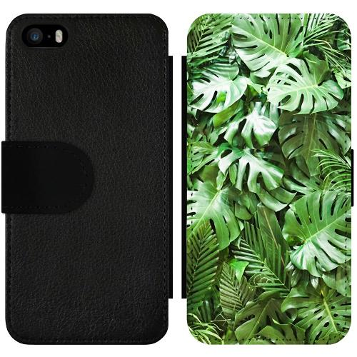 Apple iPhone 5 / 5s / SE Wallet Slimcase Green Conditions