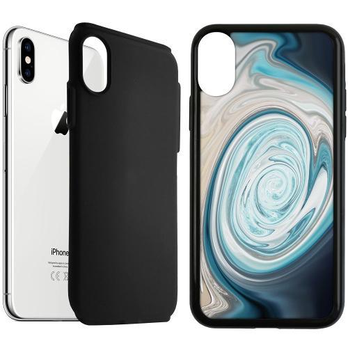 Apple iPhone XS Max Duo Case Svart Timeskip