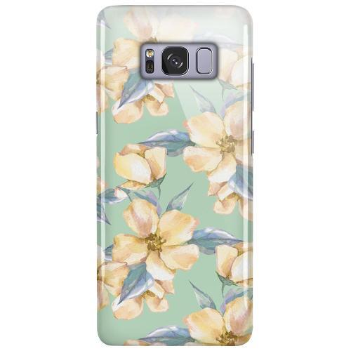 Samsung Galaxy S8 LUX Mobilskal (Glansig) Waterproof Flowers