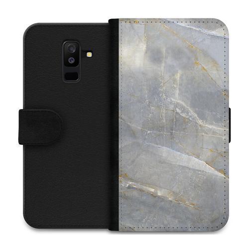 Samsung Galaxy A6 Plus (2018) Plånboksfodral Coarse Stone