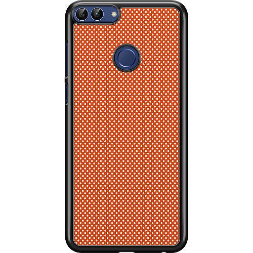 Huawei P Smart (2018) Hard Case (Black) Orange Droplets