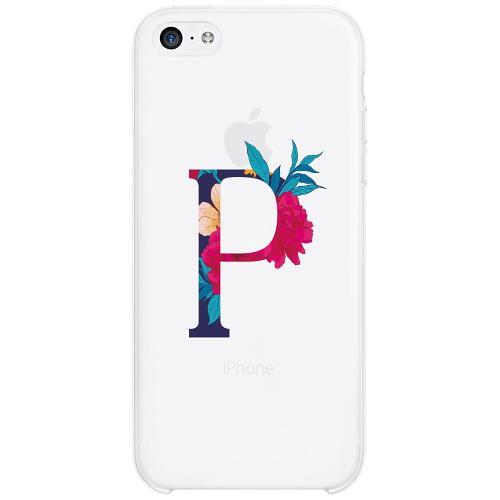 Apple iPhone 5c Firm Case Bokstaven - P